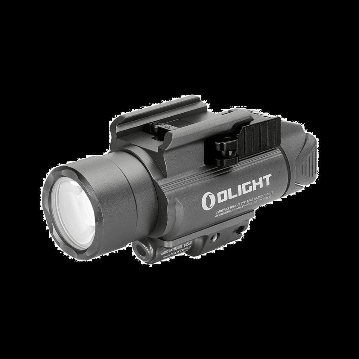 Olight BALDR Pro Waffenlichtmit grünem Laser-Gunmetal Grey
