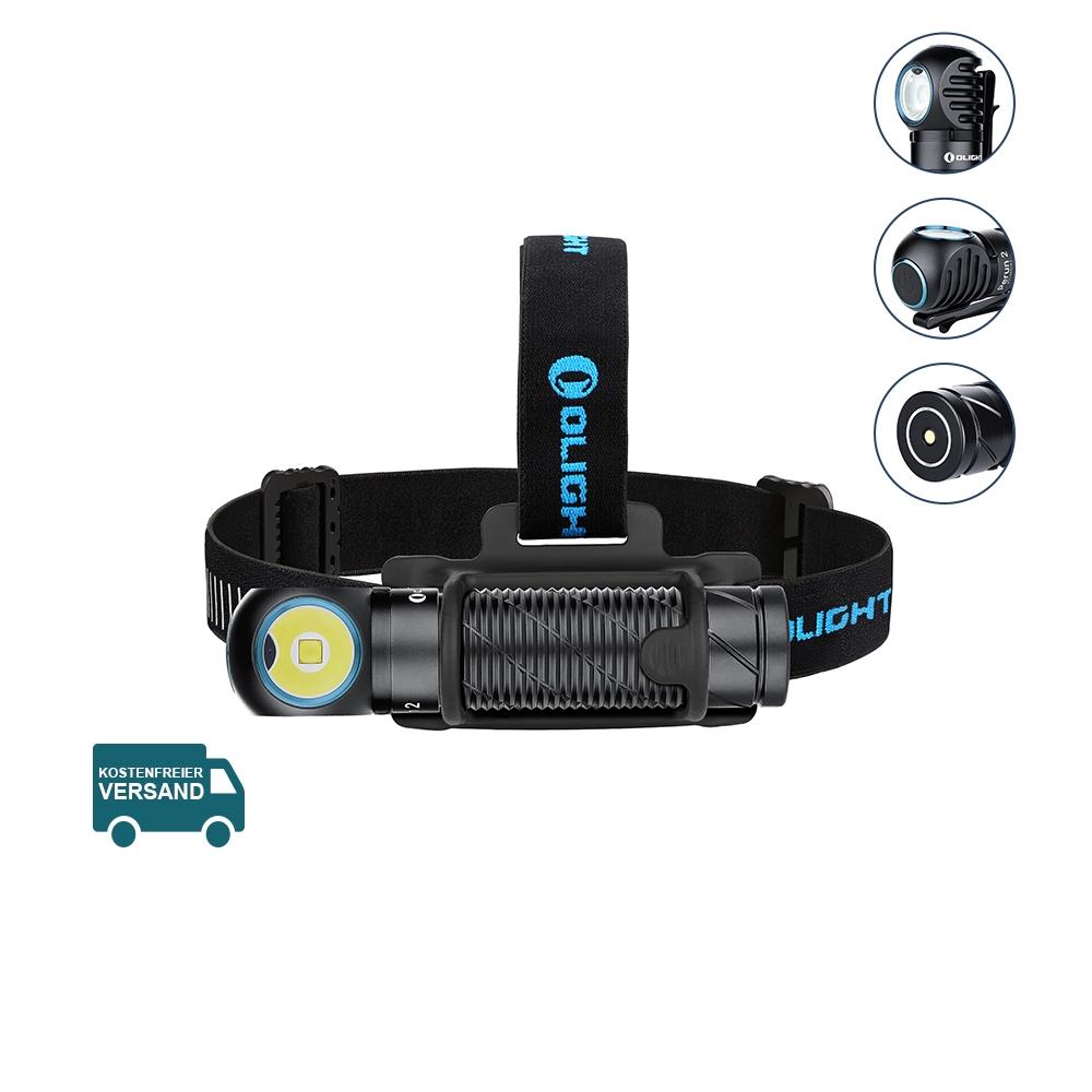 Olight Perun 2 Schwarz Outdoor LED Stirnlampe