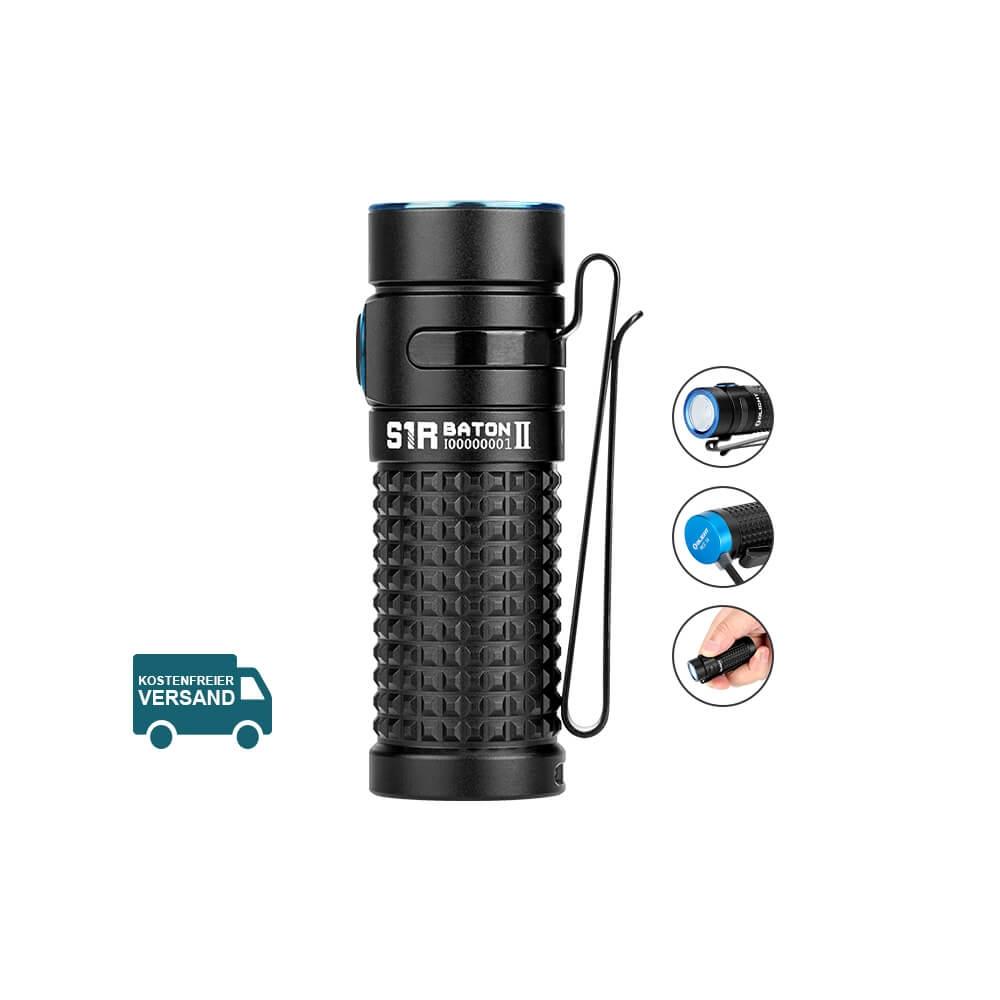 Olight S1R BATON II Taschenlampe - Schwarz
