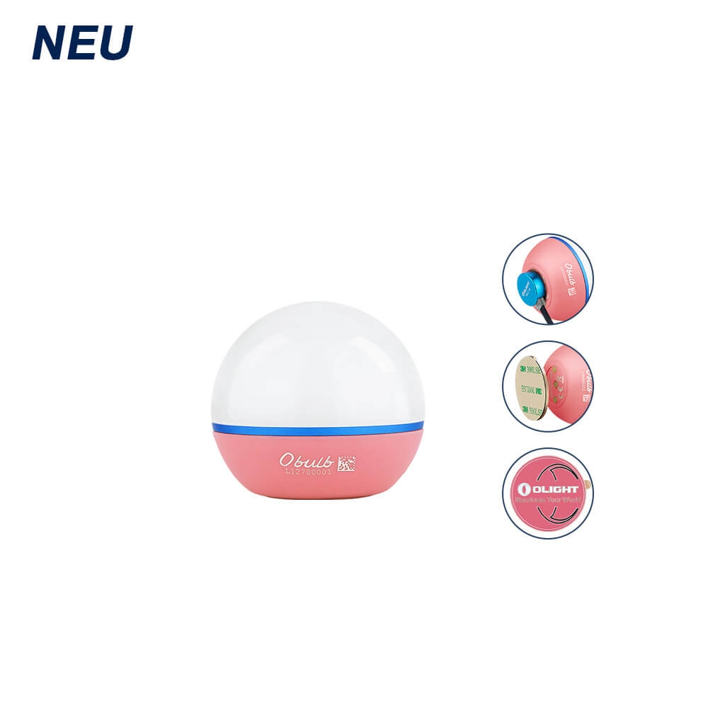 Olight Obulb Pink Mini Sphärische Lampe