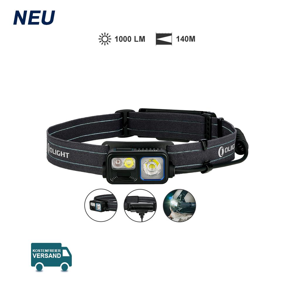 Olight Array 2S Handgesteuerte Drei Funktionen Stirnlampe