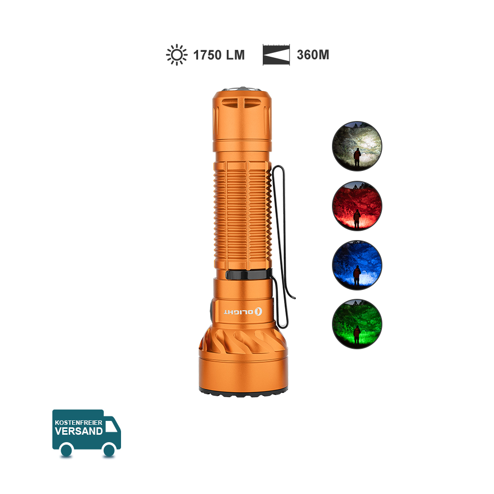 Olight Freyr LED Taschenlampe-Orange