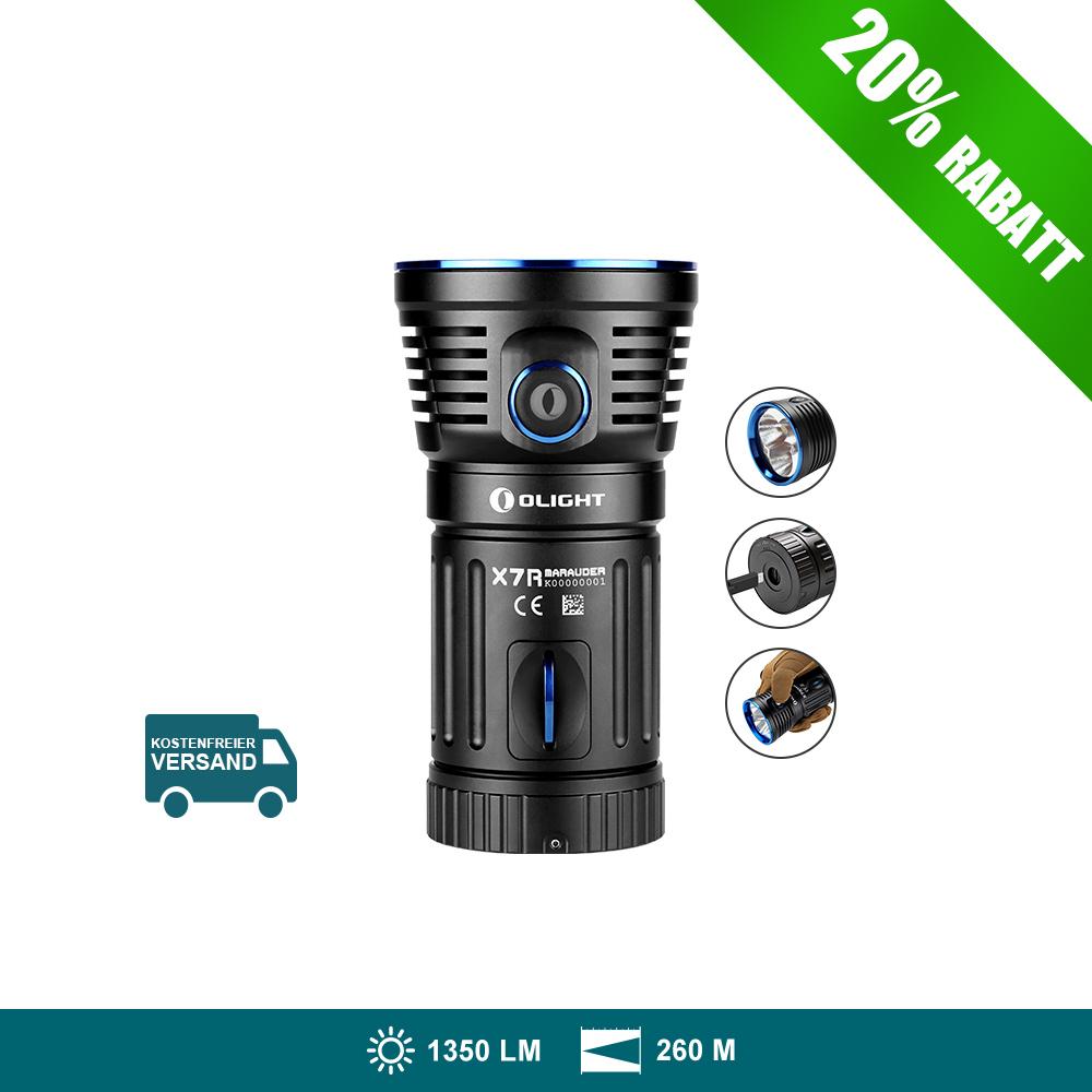 Olight X7R Marauder Taschenlampe