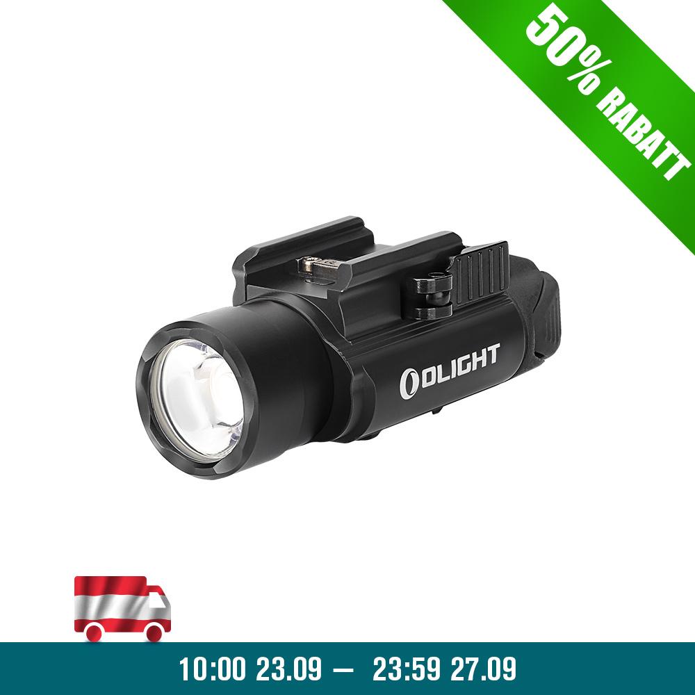 Olight PL-Pro Valkyrie Waffenlampe - Schwarz