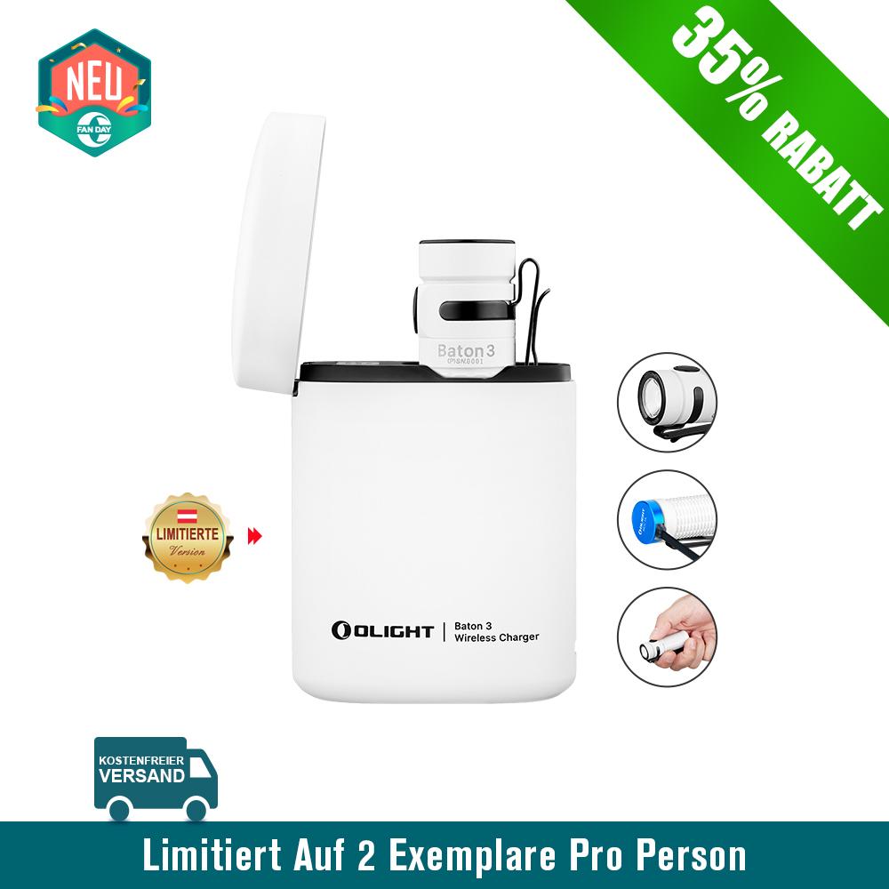 Olight Baton 3 Aufladbare Taschenlampe Kit