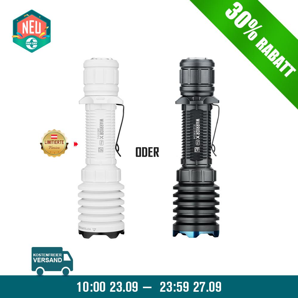 Olight Warrior X Pro Taktische Taschenlampe