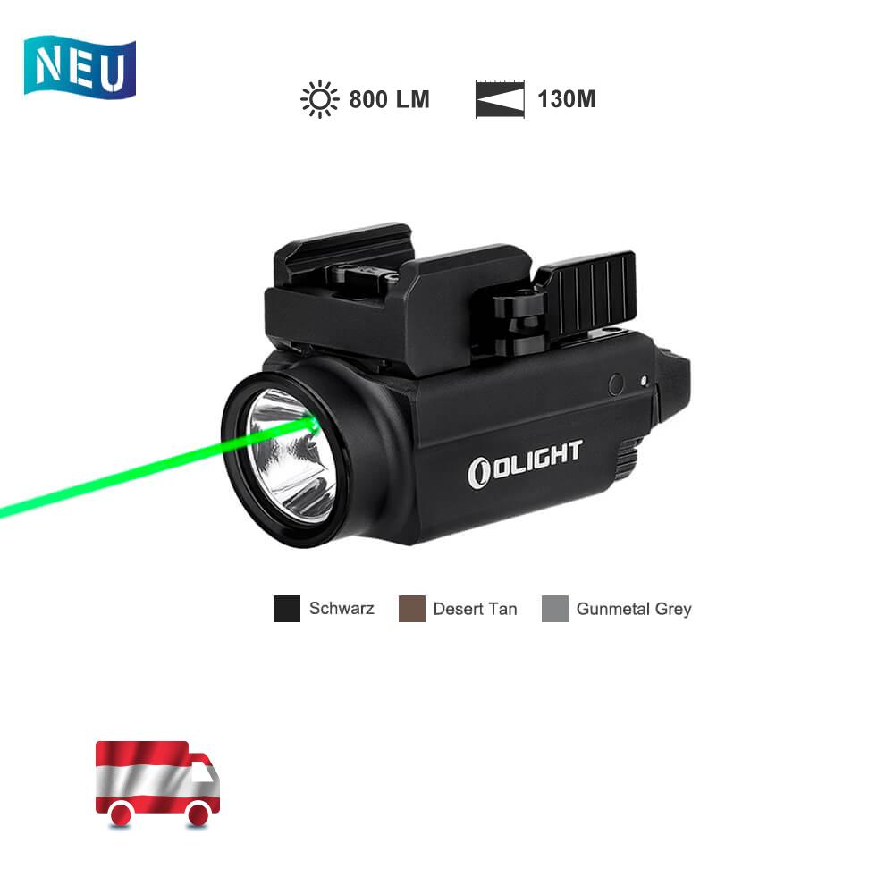 Olight Baldr S Grüner Laser Waffenlampe