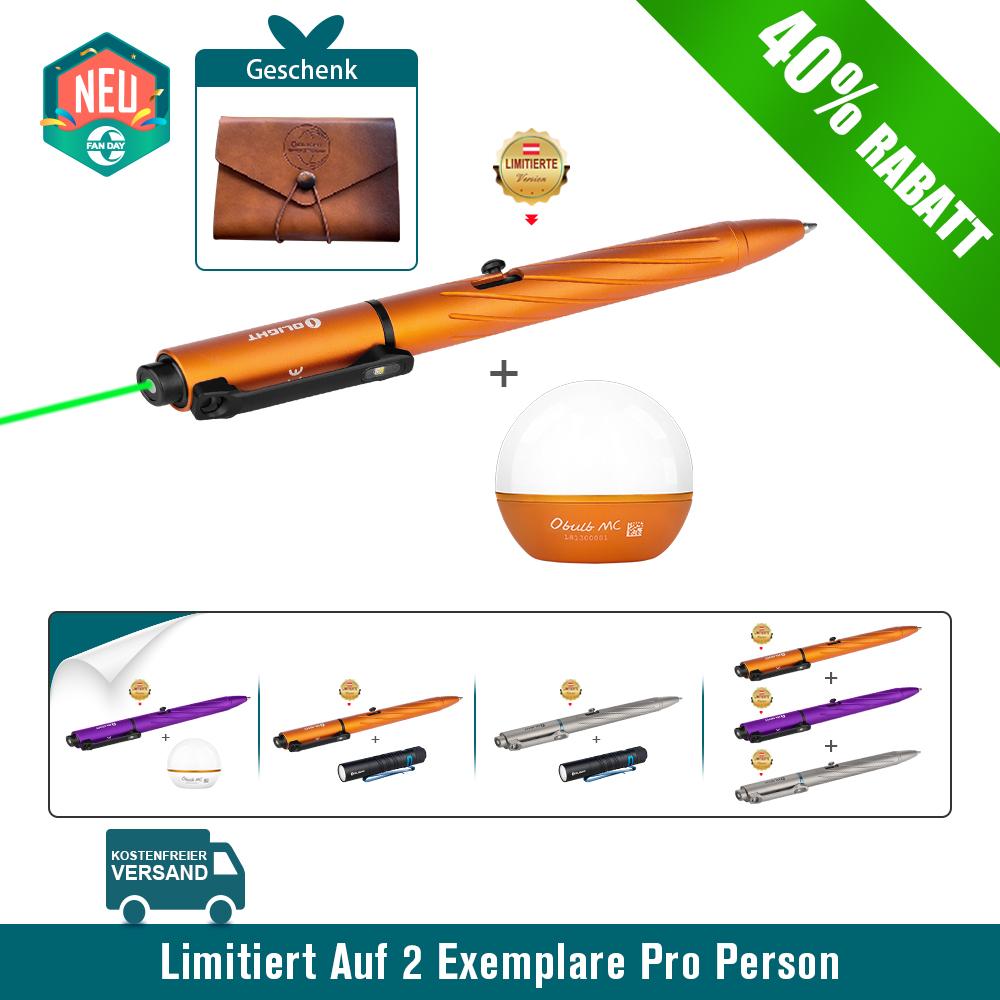 Olight OPen Pro EDC Stiftlicht und Obulb MC und Open Pro Bundle