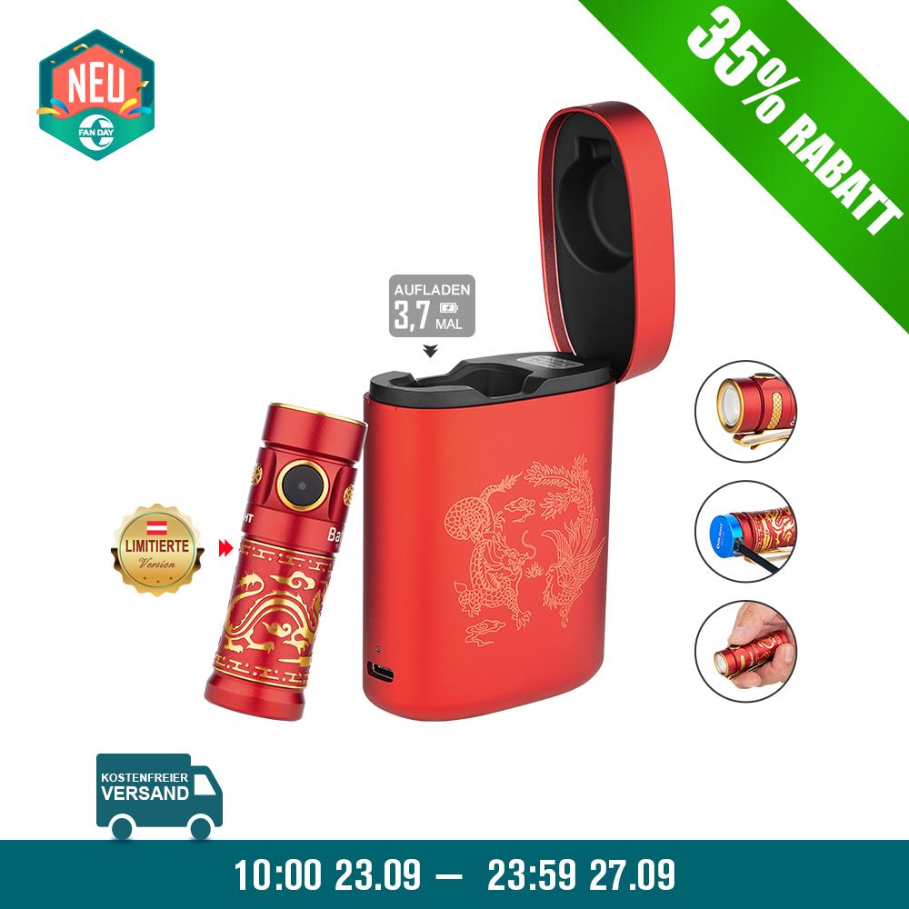 Olight Baton 3 Aufladbare Taschenlampe Kit-Drache und Phoenix
