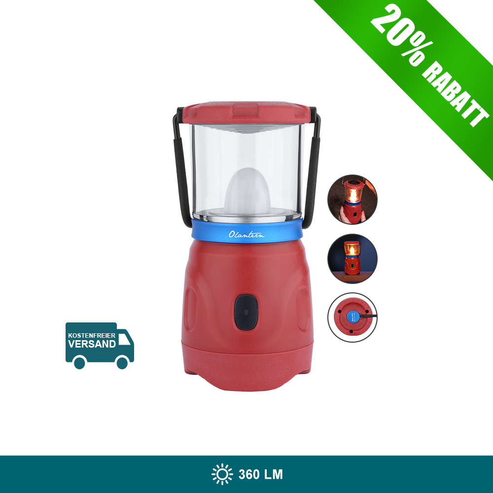 Olight Olantern Camping Lampe-Weinrot