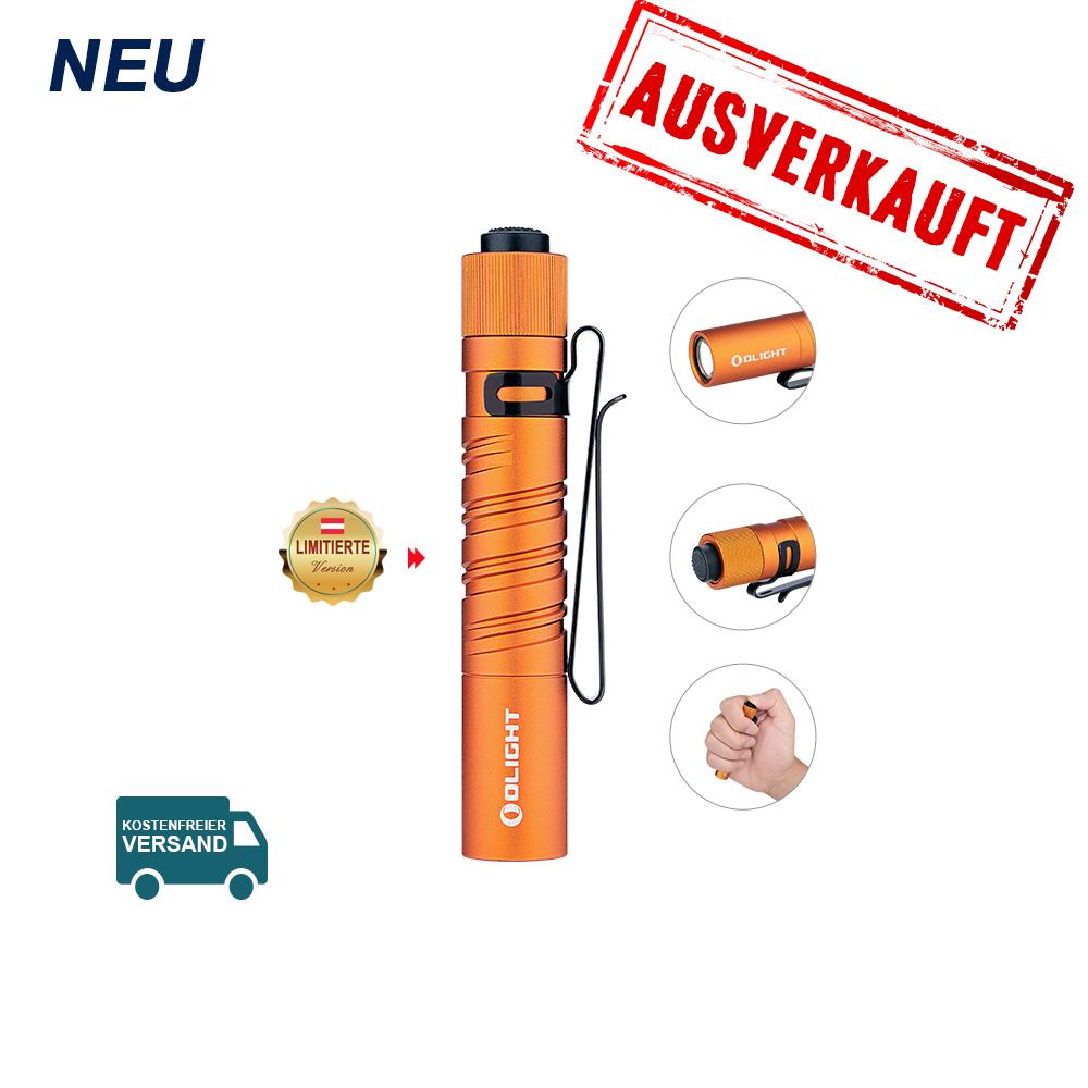 Olight I3T EOS Taschenlampe - Orange