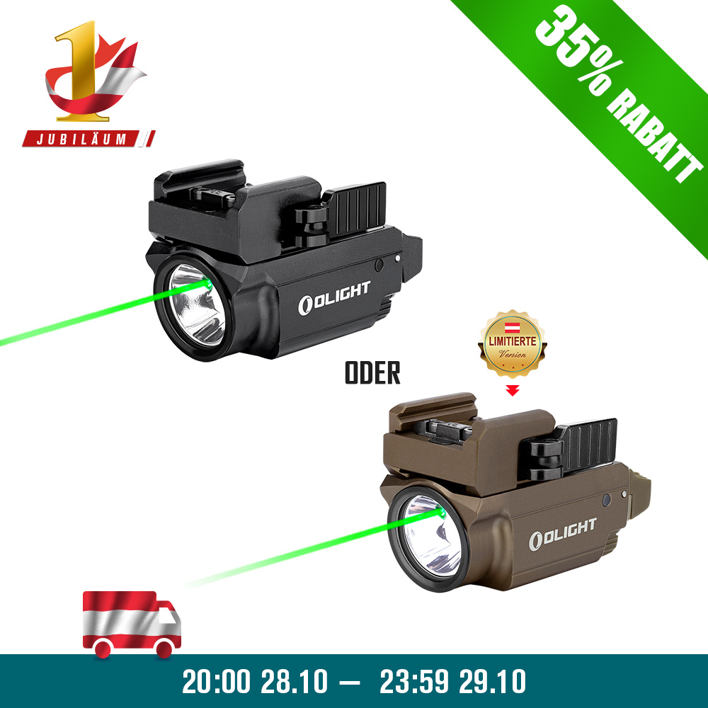 Olight Baldr Mini Grüner Laser Waffenlampe