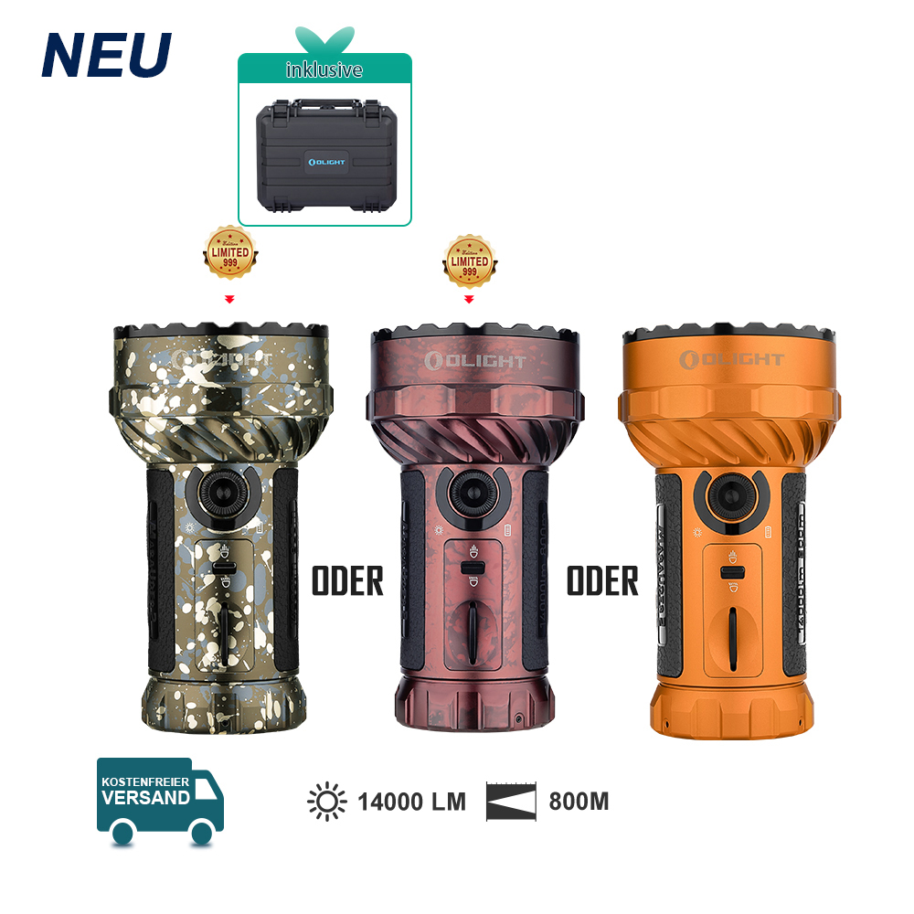 Olight Marauder 2 Taschenlampe -Bronze
