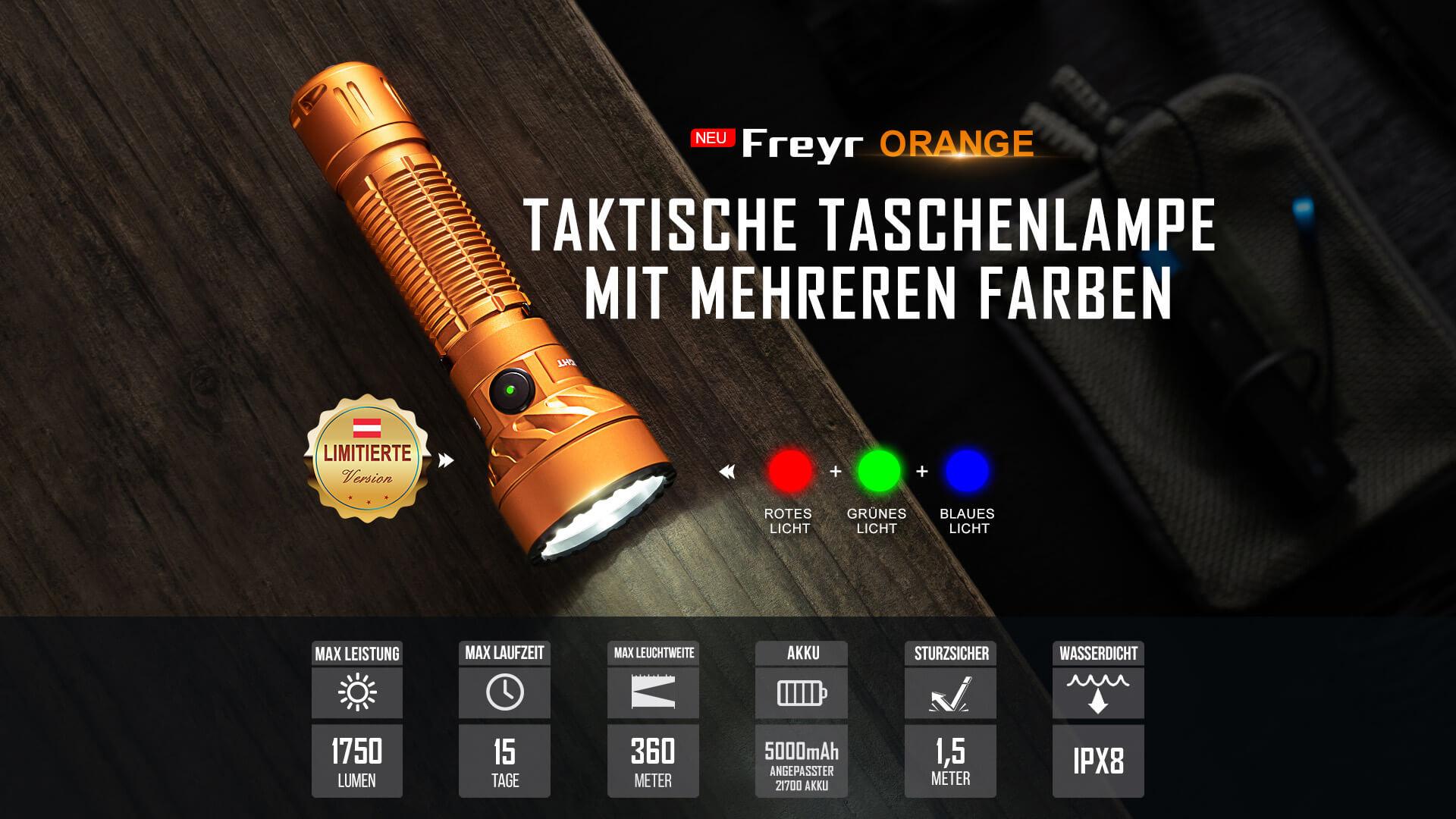 Olight Freyr taktische Taschenlampe