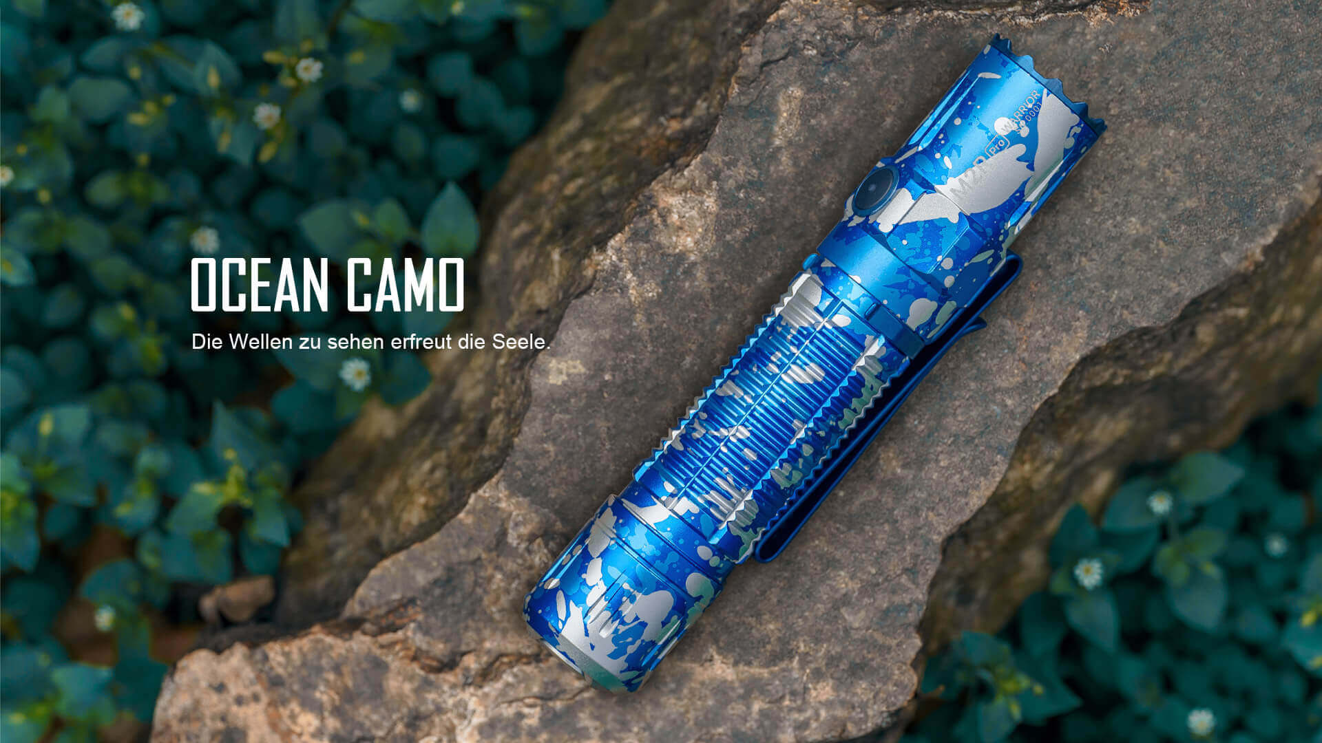 Olight M2R Pro Taschenlampe aus Aluminiumlegierung