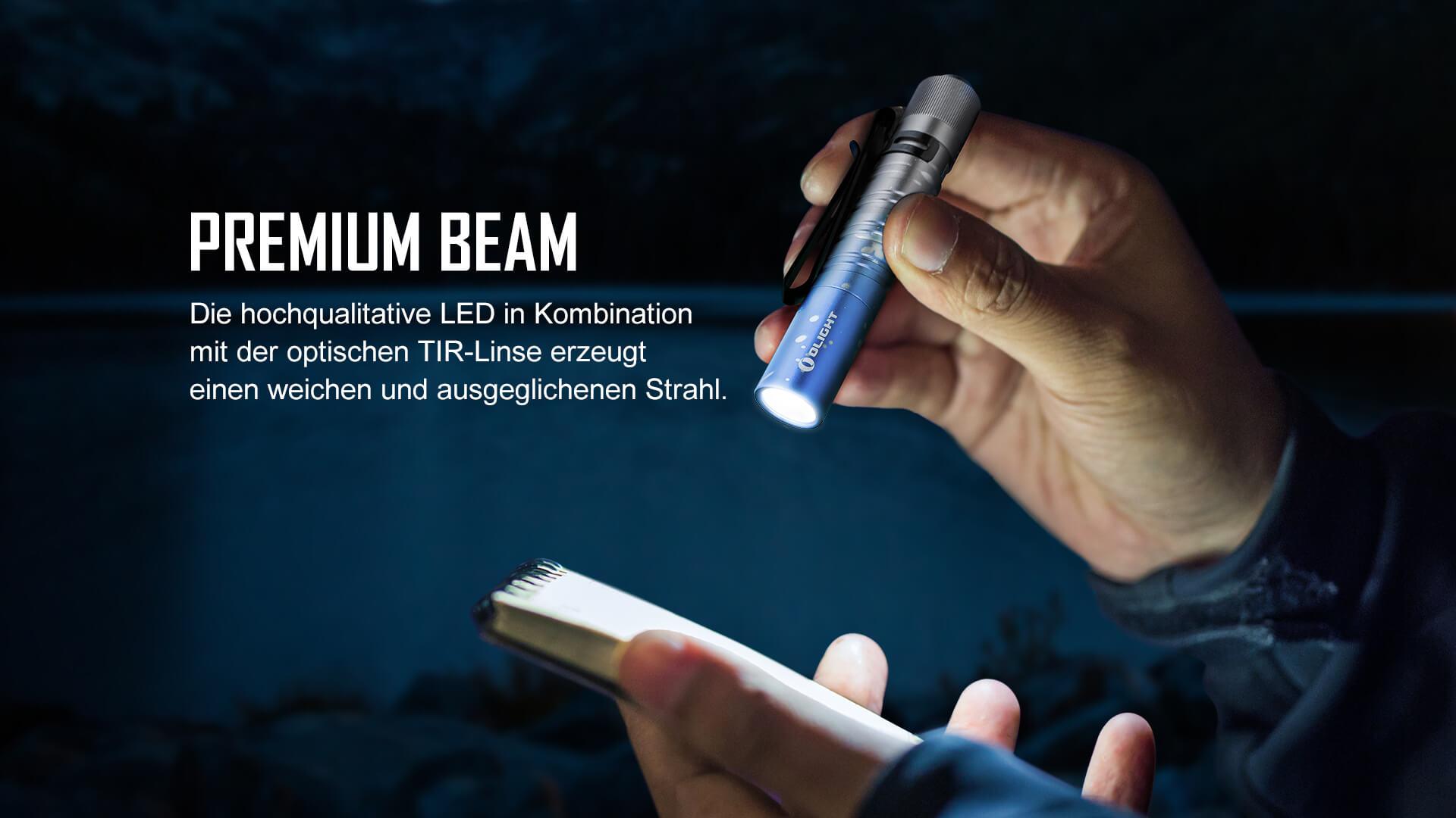 Olight I3T kleine LED-Taschenlampe