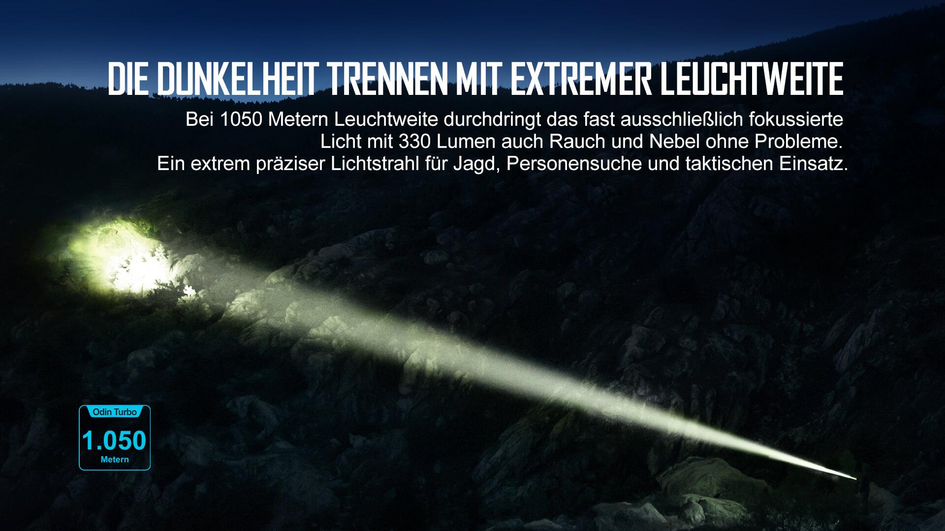 Lichtschwert mit Ultra-Reichweite