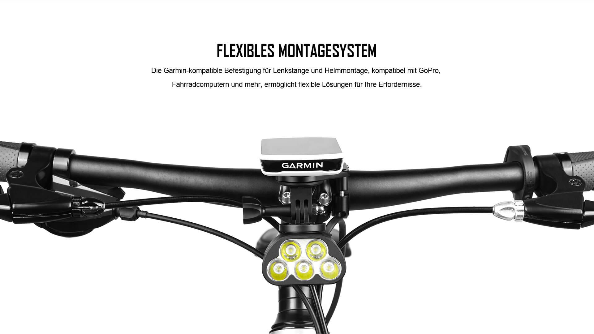 Flexibles Montagesystem