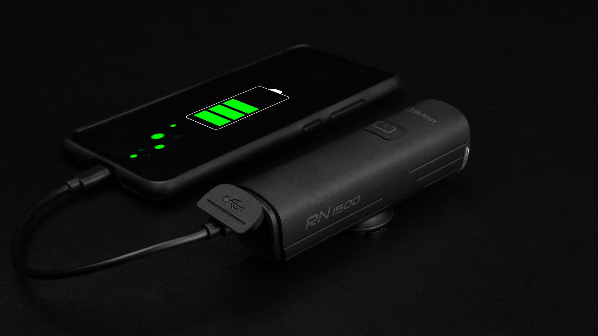 Der USB-C Anschluss der RN 1500