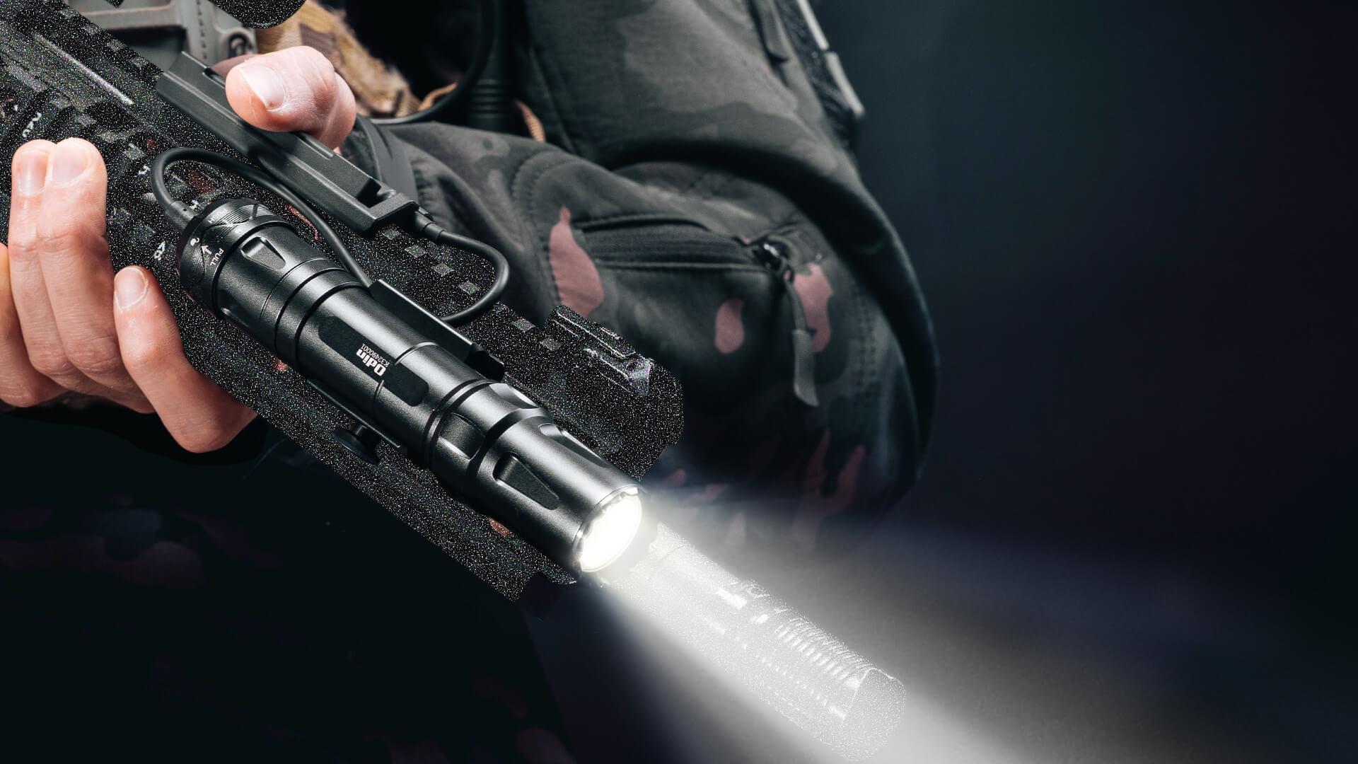 Das Odin ist das brandneue taktische Waffenlicht von OLIGHT mit exquisitem Aussehen.